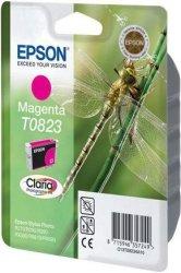 Epson T0823 Magenta Claria Ink Cartridge