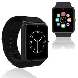 InDigi Unlocked GSM Wireless Bluetooth 2- In -1 Smart Watch Phone Camera Sim-card Slot